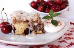 Cherry Pecan Cinnamon Roll Cake - Annette's Recipe