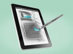 this is sweeet! I'd get an iPad just for that stylus...