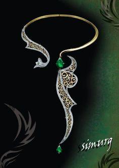 Simurg jewel
