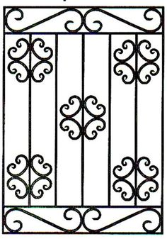 Crazy Tips Can Change Your Life: Backyard Fence Gabion Wall paint vinyl fence.Classic Fence Design modern fence and gates. Iron Windows, Iron Doors, Iron Gates, Window Grill Design, Fence Design, Iron Window Grill, Iron Gate Design, Window Bars, Concrete Fence