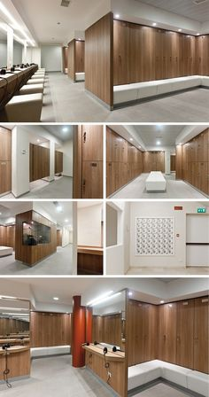 Reception desks, Reception desk, Gym lockers, Gym locker, Storage lockers, Storage locker by GRUPPO P