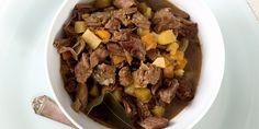 En gryte full av mørt kjøtt og grønnsaker som har fått trekke gode smaker i Beef, Food, Meat, Meal, Eten, Meals, Ox, Ground Beef, Steaks