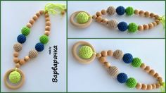 Mother and child / Teething necklace / Breastfeeding Necklace for Mom / Teething toy