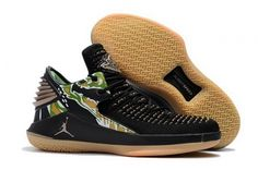 c7c10ed02be494 Original Air Jordan 32 Low Tiger Camo Black Metallic Gold-White -  Mysecretshoes Basketball Shoes