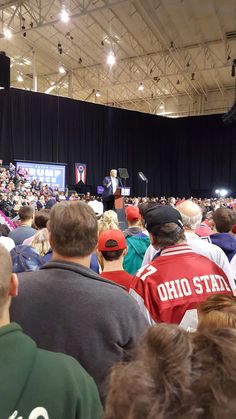 Donald Trump rally in Cleveland 10.22.16. I'm a proud deplorable! Trump for President! Drain the Swamp and turn this great country around!