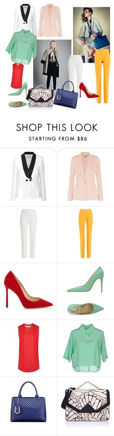 """""""mixed colours"""" by almerisa-dzafic ❤ liked on Polyvore featuring Emilio Pucci, STELLA McCARTNEY, 3.1 Phillip Lim, Victoria, Victoria Beckham, Atos Lombardini, L.K.Bennett, Lucio Vanotti, Relaxfeel, Karl Lagerfeld and thepantsuit"""