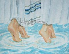 Worshiping God With All My Art: Worship Dance Alliance Isa I will open rivers in high places, and fountains in the midst of the valleys: I will make the wilderness a pool of water, and the dry land springs of water. Worship Dance, Praise Dance, Worship God, Praise And Worship, Braut Christi, Dancing With Jesus, Meaningful Paintings, Bride Of Christ, Prophetic Art