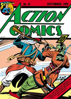 Action Comics #16 - The Terror from Saturn (Issue)