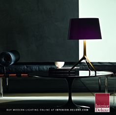 Lumiere Table Lamp - Foscarini  Shop Online http://www.interior-deluxe.com/folio-wall-sconce-p6901.html  ‪#‎ModernLighting‬ ‪#‎InteriorDesign‬ ‪#‎Foscarini‬