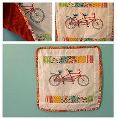@Alicia T Anne - tandem bike quilt