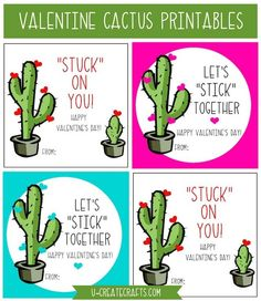"""free Valentine putty printables that you can use on any """"sticky"""" themed gift!"""