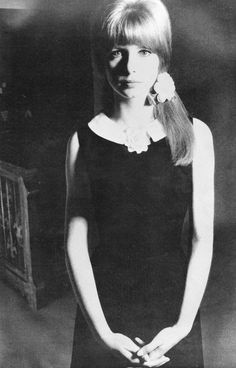 British actress of the Sixties, Jane Asher, also former paramour of Beatle Paul McCartney