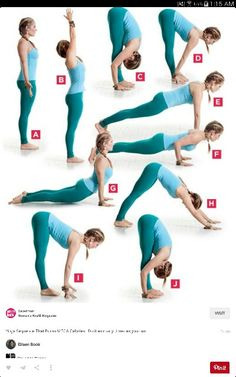 Yoga sequence that burns calories