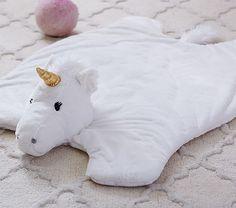 Nursery Unicorn Faux Fur Plush Rocker | Pottery Barn Kids