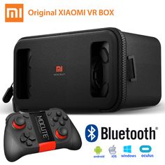 Find More 3D Glasses/ Virtual Reality Glasses Information about Original Xiaomi Mi VR Box Virtual Reality 3D Glasses Cardboard Immersive For 4.7 5.7 Inches Smartphones With Remote Controller,High Quality glasses music,China smartphone processor Suppliers, Cheap smartphone huawei from Guangzhou Etoplink Co., Ltd on Aliexpress.com
