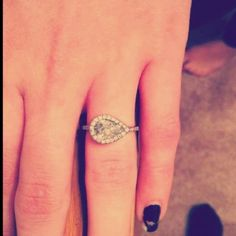 Perfect engagement ring!