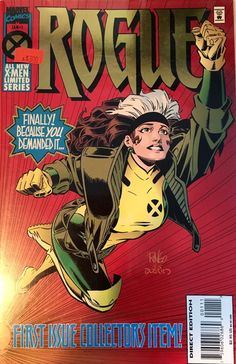 Rogue, Marvel Comics, Geek, X-Men by Arttolike on Etsy