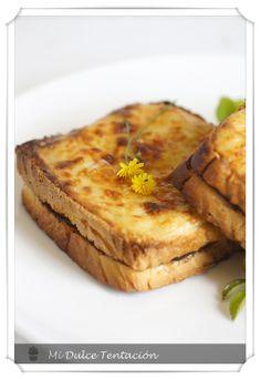 Mi dulce tentación: Sándwich Croque-Monsieur