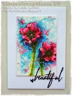 by L'Universo di Eu  TSM Challenge using Tim Holtz, Ranger, Idea-ology, Sizzix and Stamper's Anonymous products; July 2015