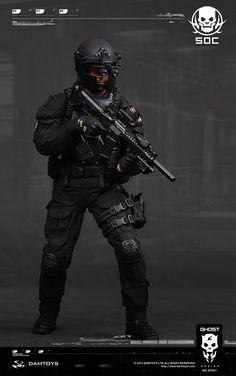 DAM - Ghost Series - Special Operations Center Glint Team Leader: Ryder Watson