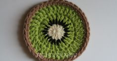 This cute little pattern is inspired by Repeat Crafter Me 's Fruit Coasters. If you haven't checked out her site you are missing out! S...