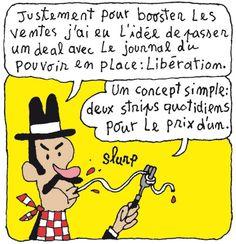 Mr Strip est dans Libé. C'est dans le cahier d'été et ça dure tout l'été.     Lezinfo  http://www.lezinfo.com/blog/