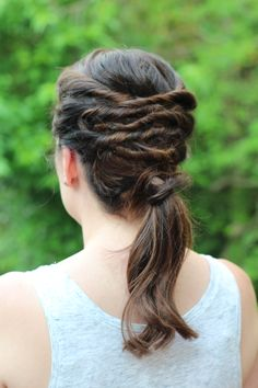Easy Summer Hairstyles: Layered Ponytail | Beauty Basics