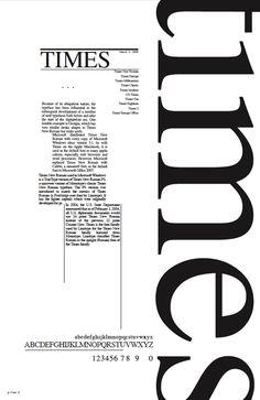 times new roman poster - Google Search