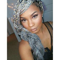 Tia Hassell Makeup Artist MUA Youtube Guru. love the makeup, not the hair. VJ