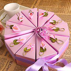 paarse lelie taart voor box (set van 10) - EUR € 5.77