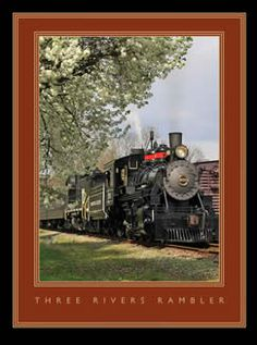 Three Rivers Rambler train ride in Knoxville, TN