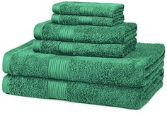 AmazonBasics Fade-Resistant Cotton 6-Piece Towel Set, Teal AmazonBasics http://www.amazon.com/gp/product/B00Q7JEM0M/ref=as_li_tl?ie=UTF8&camp=1789&creative=390957&creativeASIN=B00Q7JEM0M&linkCode=as2&tag=wonderfulrota-20&linkId=WWYIWFZHVQEM5WJL