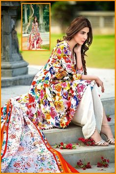 Gul Ahmed New Summer Lawn Collection 2016 Vol-1 Prices   #SummerDresses #SpringDresses #GulAhmedCollection #Dresses