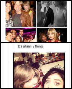 Photobombing, it's a family thing. AHAHA