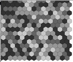 Image result for random hexagon tile pattern 4 colours