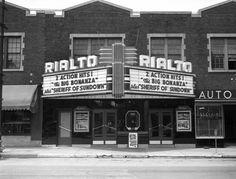 Cape Girardeau - Rialto Theatre on Broadway, 1944.