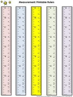 Measurement Tools Printable Rulers 9 Inches And 22 Centimeters