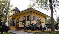 Balzac's Coffee Roasters – Niagara-on-the-Lake Niagara Region, Stunning View, Wine Tasting, Mansions, House Styles, Outdoor Decor, Coffee, Canada, Interior