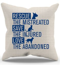 Quality Hoodies and tees..Click here http://zapbest2.myshopify.com/products/rescue-animals-pillow-case Made just for you! Printed in USA Fast Shipping! In Stock. Can Ship