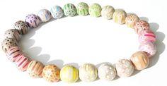 Maria Cristina Bellucci Necklace: 12 neck 4 2012 Colored pencils