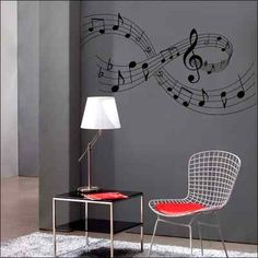 Details about Musical Notes Wall Art Sticker Music Room Music Wall, Art Music, Wall Decor, Room Decor, Wall Art, Music Decor, Room Themes, Home Office Decor, New Room