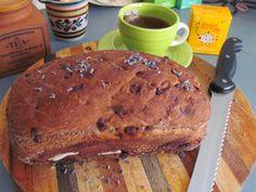 Chocolate Lavender Bread