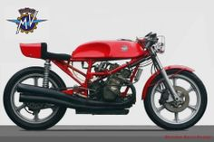 MV Agusta cafe racer concept by Oberdan Bezzi Motor Vehicle, Motor Car, Ducati, Yamaha, Norton Commando, Mv Agusta, Cafe Racer Motorcycle, Bmw Motorcycles, Mopeds