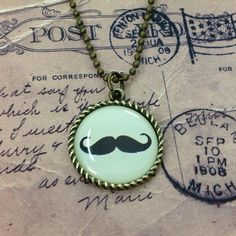 Mustache Necklace by HelloBigshop88 on Etsy, $2.00