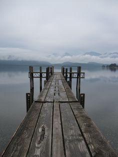 Te Anau, New Zealand.