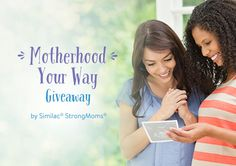 Motherhood is different for everyone. That's why Similac is letting YOU choose your prize in the Motherhood Your Way Giveaway. Plus, 118 moms will win instantly! Enter daily through 8/1/17 for your chance to win.