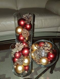 Dollar Store Christmas Table Centerpieces - Wine Glass Candle Holders - Happy Christmas - Noel 2020 ideas-Happy New Year-Christmas Beautiful Christmas, Simple Christmas, Christmas Holidays, Christmas Crafts, Cheap Christmas, Christmas Trees, Nordic Christmas, Christmas Candles, Primitive Christmas