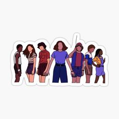 Stranger Things Sticker by SunshineEffect-