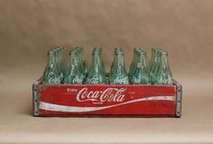 Vintage CocaCola Wooden Crate Rustic Home Decor by PluckedVintage, $168.00
