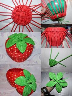 Luty Artes Crochet: Trabalho lindo feito de jornal.